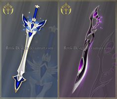 Swords adopts 25 (OPEN) Auction by Rittik-Designs