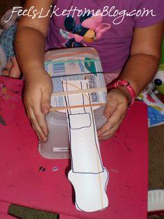 Preschool Music Crafts - Guitar & Shaker