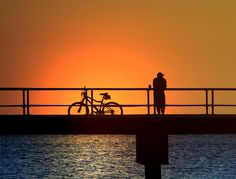 Cyclist's Sunset | by MaryleeUSA