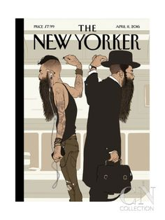 The New Yorker Cover - April 2016 Poster Print by Tomer Hanuka at the Condé Nast Collection The New Yorker, New Yorker Covers, Tomer Hanuka, Magazine Illustration, Illustration Art, Capas New Yorker, Magazine Wall, Magazine Covers, Art Editor