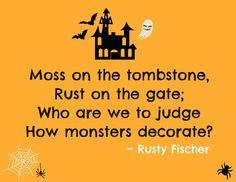 Bad Housekeeping... A Halloween poem