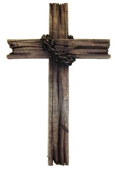 I want a rustic cross for our front door.  I like the size and it's reasonably priced. ($27.95)  Update: I got it.  I really like the way it looks from a distance.  It's not real wood and is very heavy.  But is perfect for our front door during the Easter season.