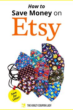 Who doesn't love Etsy finds like handmade jewelry, custom signs, photo tumblers, and art? Etsy isn't where you shop if you want to save money, but it's perfect to find something unique & handmade. It's also not easy to find coupon codes, discount codes, or sales- unless you have these money-saving tips from The Krazy Coupon Lady! Read on for Etsy hacks and smart shopping tips, whether you're shopping for sustainable clothing, small business Halloween decorations, or custom Christmas ornaments!