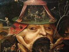Hieronymus Bosch. Mad as a box of frogs.