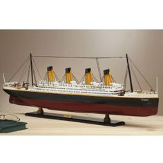 Buy RMS Titanic Model online in Australia - http://www.mykangahome.com/buy-rms-titanic-model-online-in-australia/ #Australia #home #decor #garden