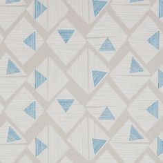 Buy John Lewis Native Fabric, Azure online at JohnLewis.com - John Lewis