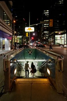 Toronto Nights #TTC #subway.  St. Andrews (King St.) on the University line.