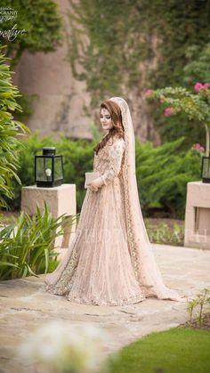 c043980484ef 53 White   Cream Inspirational Pakistani Bridal Outfits  Irfan Ahson ...