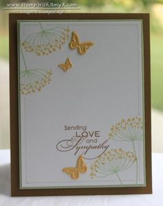 Summer Silhouettes Sympathy Card by amyk3868 - Cards and Paper Crafts at Splitcoaststampers