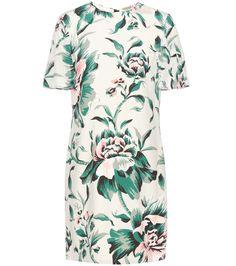 Burberry - Anthia printed silk dress | mytheresa.com