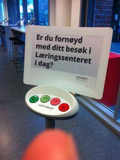 Oslo and Akershus University College of Applied Sciences Library (HiOA): ¿satisfecho con tu visita a la biblioteca? (18/05/2015)