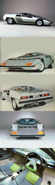 1978 Dome Zero / Japan / concept / green silver