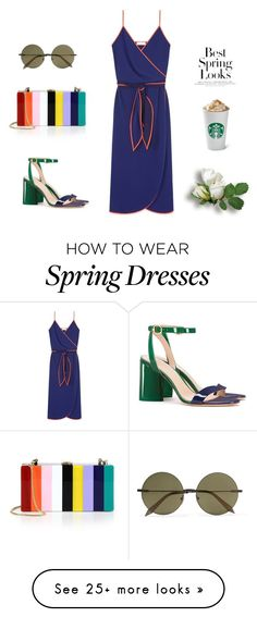 """""""Untitled #483"""" by doinabarsan on Polyvore featuring Tory Burch, Milly, Victoria Beckham and H&M"""