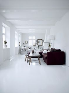 www.divalifestyle.com - wit interieur in je woonkamer