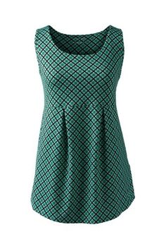 Women's+Active+Pleated+Tank+Top+from+Lands'+End