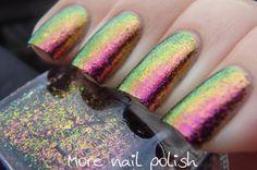 I Love Nail Polish ILNP: ☆ Electric Carnival ☆ ... multichrome nail polish