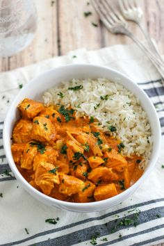 Easy Slow Cooker Butter Chicken
