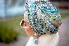 MACADEMIAN GIRL: TURBAN MAKES IT CHIC