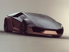 Lamborghini Ganador Concept - Car Body Design