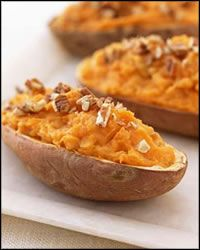 Stuffed Sweet Potatoes - Moroccan Recipes