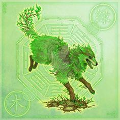 Yuumei — Element Wolves