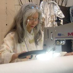 MASTER QUILTER - Yoshiko Jinzenji    During more than 30 years of fine art quilt making, Jinzenji has merged different cultural styles from the stitching handiwork of the Amish and Mennonites to the patchwork alter cloths of her native Japan.