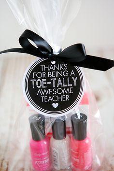 eighteen25: Toe-tally Awesome Teacher Gift