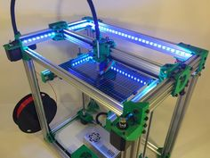 D-Bot Core-XY 3D Printer by spauda01 - Thingiverse