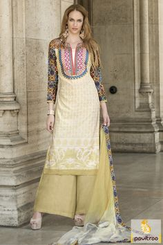 Add the charm with lovely looking olive chiffon and georgette casual salwar suit with discount. It is graceful with nice plazo style salwar with fancy design. Shop it now. #salwarkameez, #cottonsalwarkameez, #casualsalwarlameez, #printedsalwarkameez,#churidarsalwarkameez, #discountoffer, #pavitraafashion, #utsavfashion, #embroiderysalwarsuit, #georgettesalwarsuit, #silksalwarkameez, #straightsalwarsuit http://www.pavitraa.in/store/casual-dress/ callus:+91-7698234040