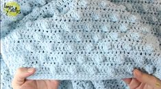 Follow this step by step tutorial to learn how to crochet a baby blanket with simple stitch technique + Free, easy & fast DIY video guide for beginners.
