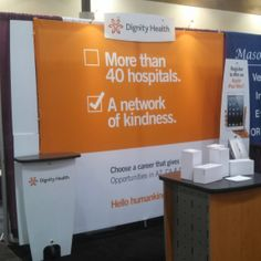 Dignity Health Career Booth