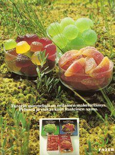 Fazerin marmeladeja 70-luvulta