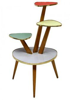 Italian mid-century modern occasional table, design in the style of Piero Fornsasetti (Italian, 1913-1988)