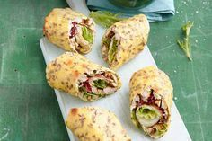 Grundrezept Low-Carb Wrap