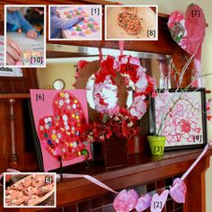 Here are 10 Valentine's Day crafts & activities for the kids to do! Lots of fun Valentine's Day crafts and activities for young kids to explore this year!