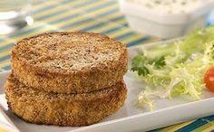 Recheio Mania: Hambúrguer de Lentilhas e Aveia (vegan)