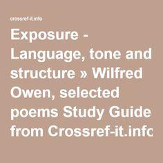 "Analysis of ""Exposure"" by Wilfred Owen"