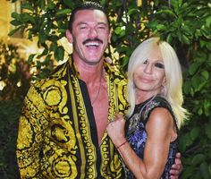 Look who arrived to my after party! Thanks for coming! Thanks For Coming, Donatella Versace, Luke Evans, Thankful, Sari, Singer, Actors, Model, Instagram