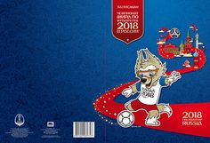 Russia 2016 Folder 2018 FIFA World Cup Mascot Wolf football MNH**  | eBay
