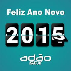 Desejamos um novo ano incrivelmente positivo. Aproveite cada momento que virá!  Feliz 2015!!!
