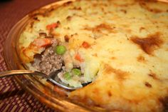 Shepperds Pie - Homemade Mashed
