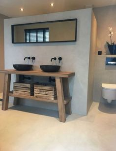 How to set up a  standard bathroom? Complete your bathroom with the   VIGO Olus Wall Mount Bathroom Faucet  Click to see more! | VIGO Industries - Bathroom sinks and faucets design ideas - BathroomRemodels - Home Interior