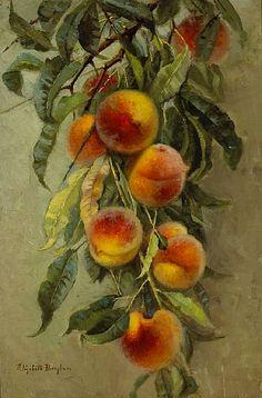 Elizabeth Jaynes Borglum -     Peaches,     19th century