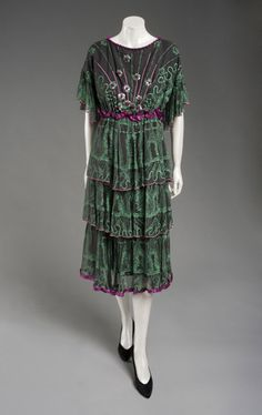 Dress by Zandra Rhodes, 1980 from the Philadelphia Museum of Art