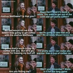 Maya and Josh Girl Meets World