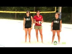 How to do a Volleyball Hit - YouTube