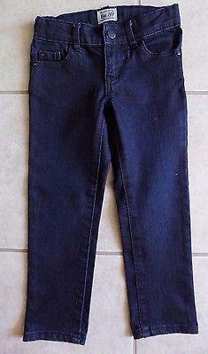 TCP Girls Skinny Jeans- size 4- Blue -Adjustable Waist