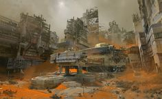 Dive into the mazing art of Dorje Bellbrook, Bungie concept artist, featuring a selection of concept art made for Destiny. You can browse our full Destiny Sci Fi Environment, Environment Design, Bungie Destiny, Destiny Game, Science Fiction Kunst, Art Environnemental, Sci Fi City, Matte Painting, Environmental Art