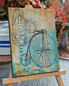 Mixed Media Art for Home by Crystal Renee.