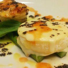 #tomino alla #piastra con #asparagi #hallbar #sarpi #milano #chefluigi  #instafood